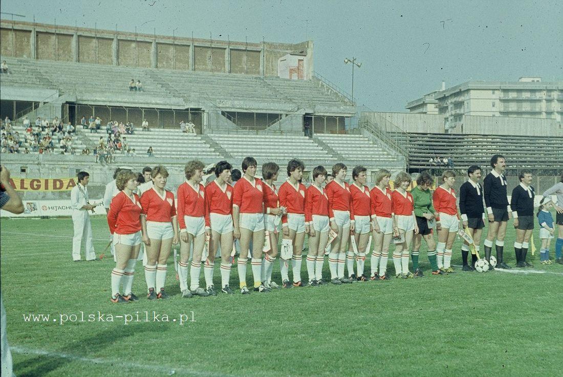 1981-6-27 Włochy (K) - Polska (K) 3-0 - Polska Piłka Nożna